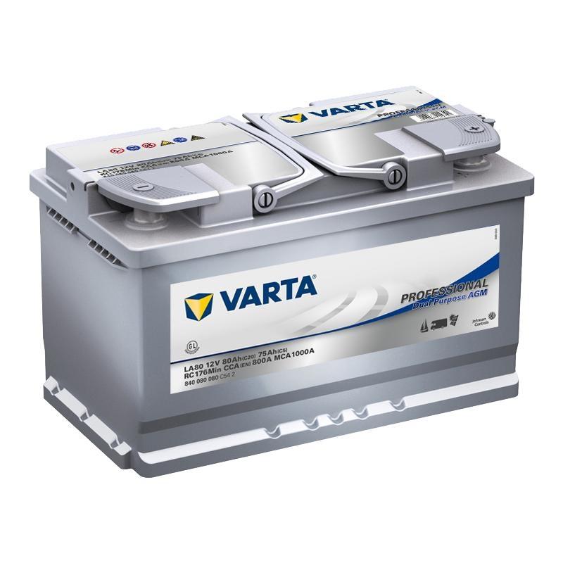VARTA Professional AGM 12V 80Ah
