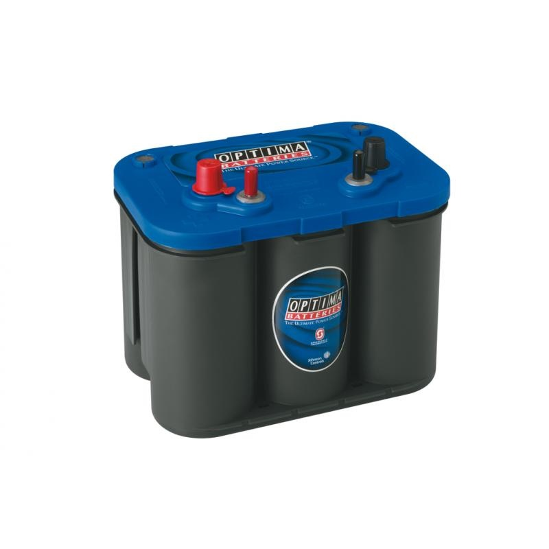 OPTIMA Starterbatterie '''Blue Top'' 50 Ah   AGM'