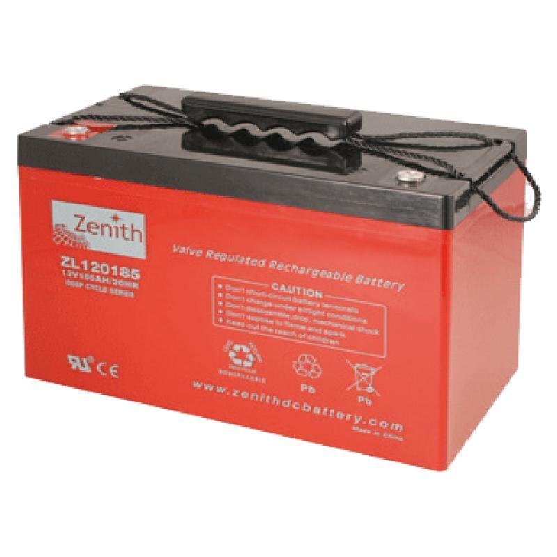 Zenith AGM DEEPCYCLE Batterie 105 Amp.