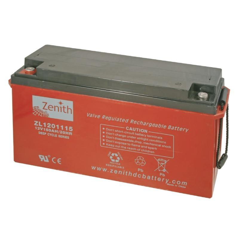 Zenith AGM DEEPCYCLE Batterie 160 Amp.