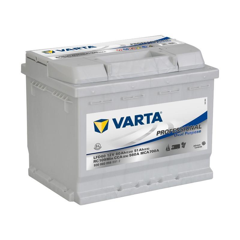 VARTA Professional DP Verbraucherbatterie 60Ah